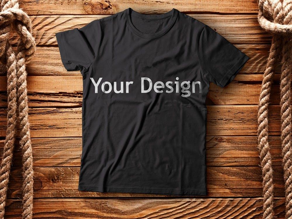 Free T-shirt mock-ups