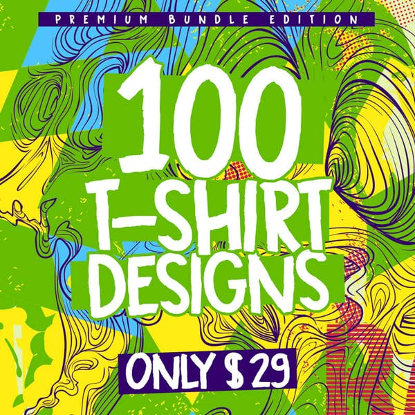 100-Tshirt-Designs-Bundle-Cover