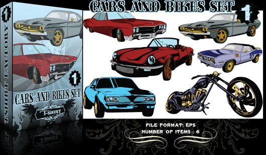 Muscle Cars Vectors