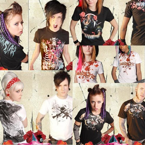 bleeding star clothing