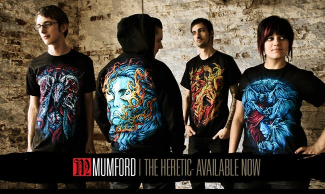 Mumford Clothing - The Heretic story behind the t-shirts