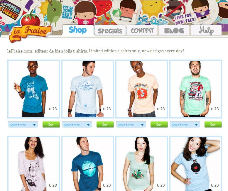 1dd46d244 The best 15 t-shirt online stores. Check on and pick your favourite