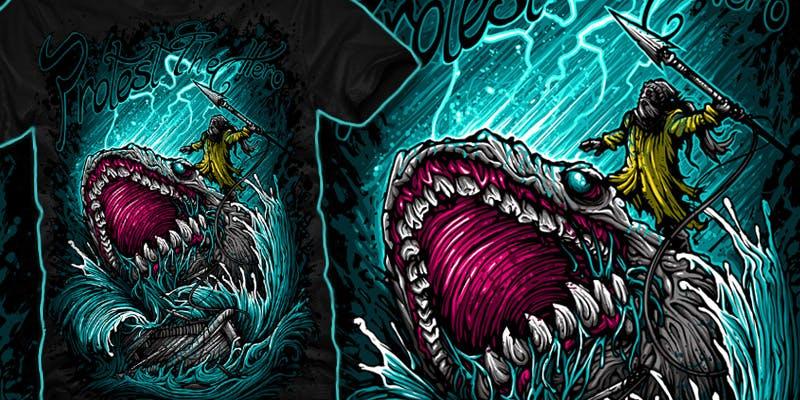 t-shirts metal band