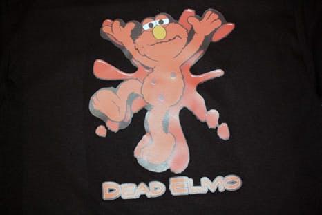 dead elmo t-shirt