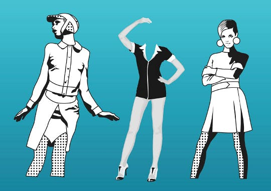 Free Fashion Girls Vectors