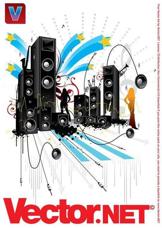 music free vector