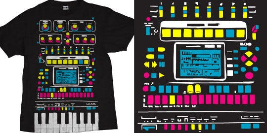 t-shirt for music lovers