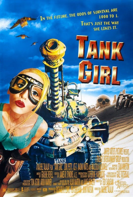 Tank Girl Movie Poster