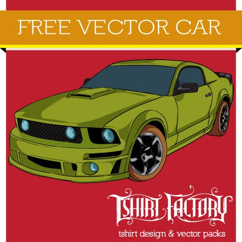 Free Download Vector Car