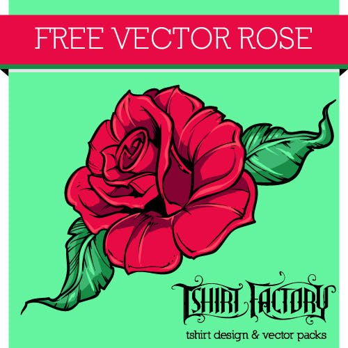 free vector rose