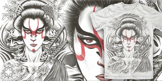 Kabuki Geisha by Rial Demones