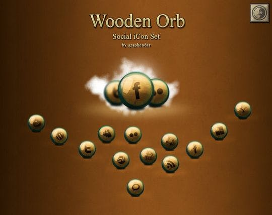wooden orb