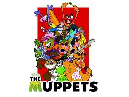 muppets T SHIRT craze