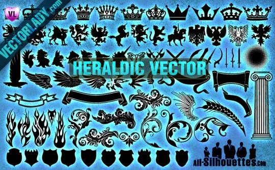 free heraldry vectors