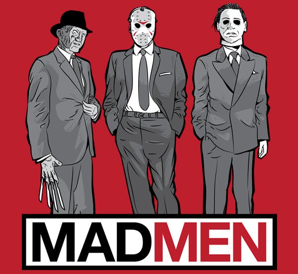 Mad Men-inspired Cool t shirt #33 !