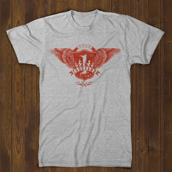 Tshirt Factory Anniversary - 1000 t-shirts, 1000 ideas !