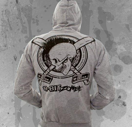 8 Bit Zombie t-shirt line ! ! !