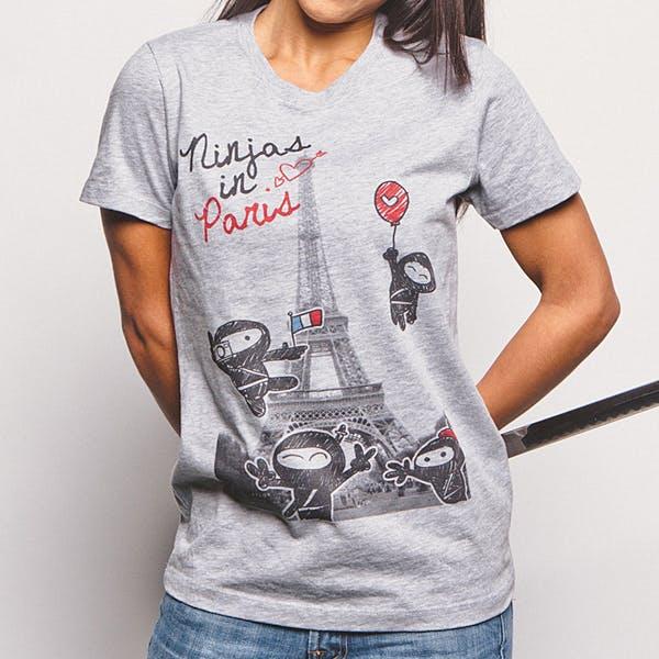 Ninjas in Paris Cool t shirt # 35 !