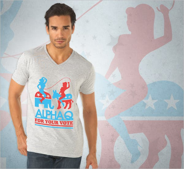 Alpha Q for T-shirts!