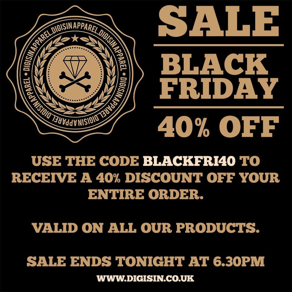 Digisin Black Friday sale - 40% off !