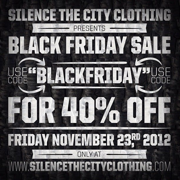 SILENCE THE CITY CLOTHING