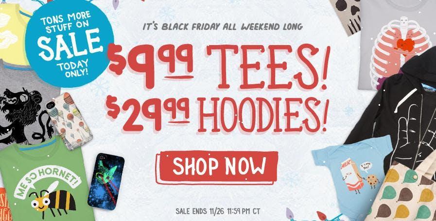 Best Deal - Threadless' Black Friday Sale !