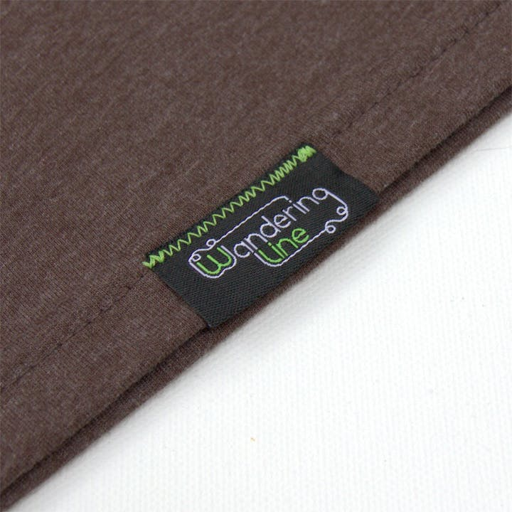 Hand sewn tag