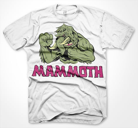 Fighting Mammoth Cool t-shirt #79 !