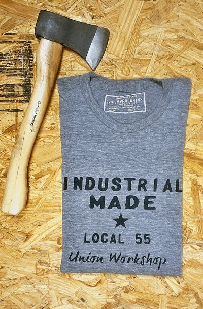 THE GOOD UNION - Industrial made workshop t-shirts