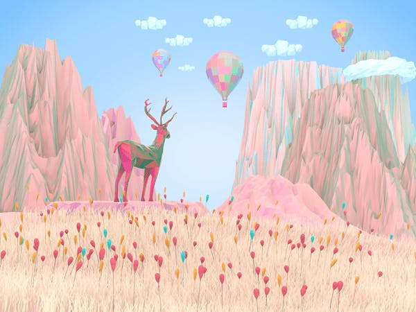 Nature Dreamy Illustration Serie