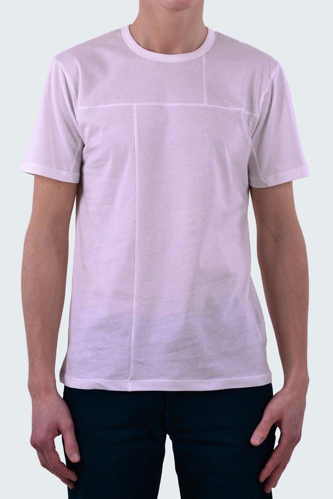 Tee shirt ASYMMETRIC BLANC