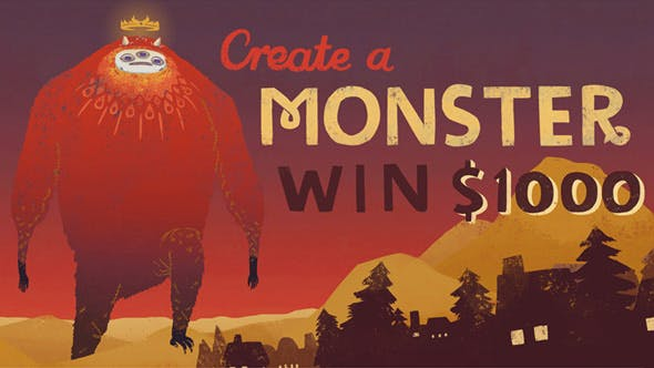 Redbubble's Monster Contest !