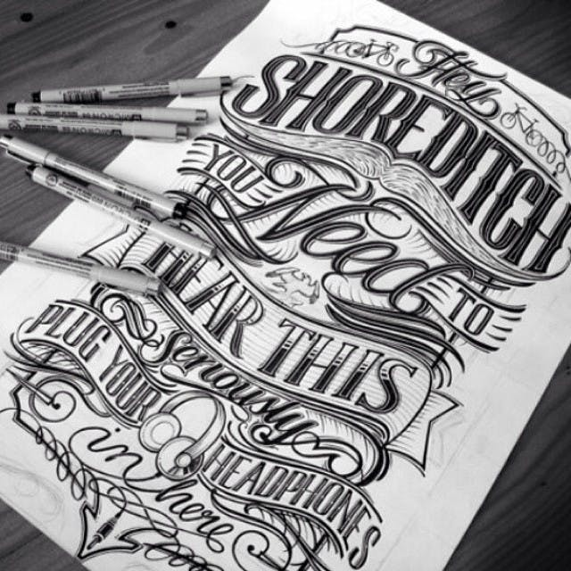 typography designs