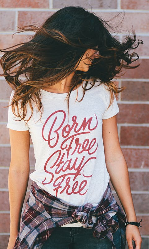 free t-shirt design SEVENLY