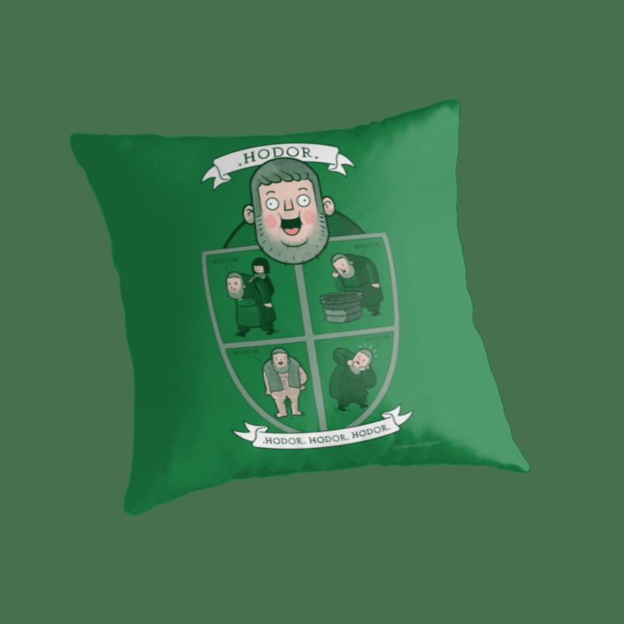 Hodor Pillow hodor design