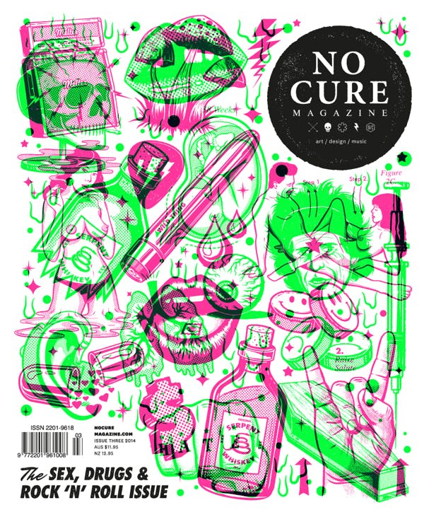 No cure magazine cover