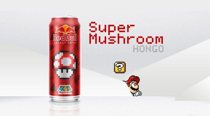 Packaging design red bull design