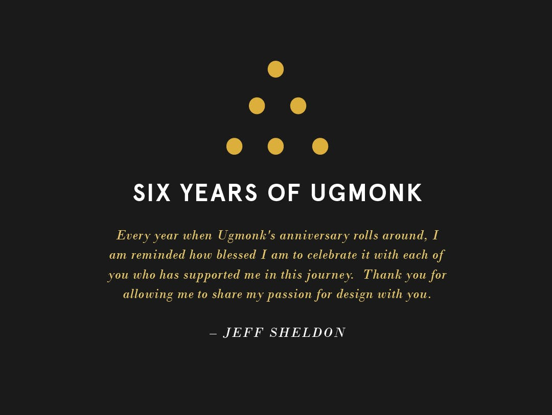 Jeff Sheldon, founder of ugmonk