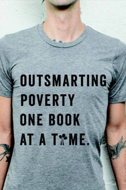Outsmarting poverty one book at a time
