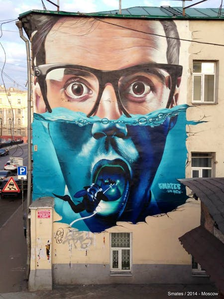 urban street art by smates