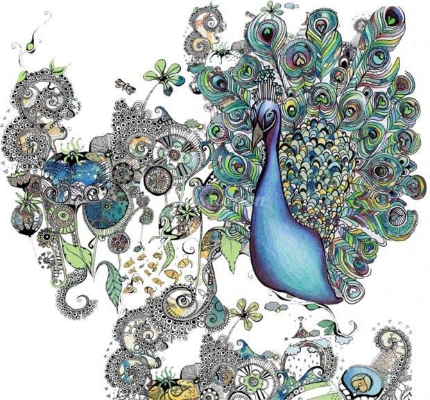 Peacock Hannah Davies