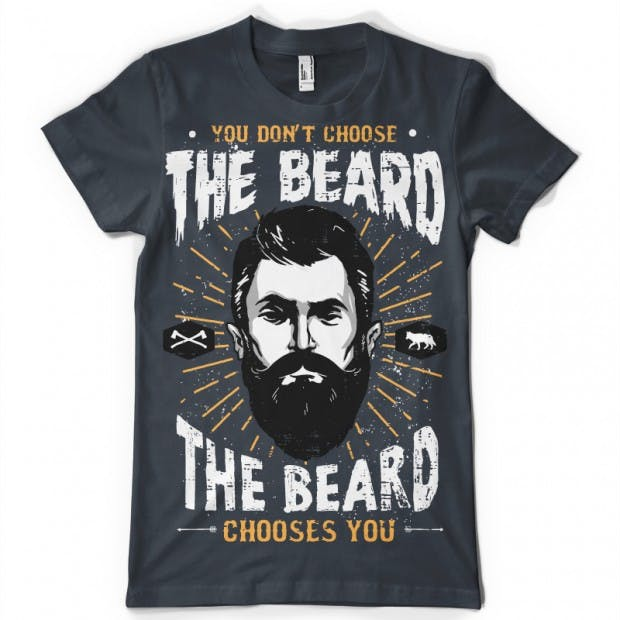 The-Beard-Choice-T-shirt-clip-art-14279