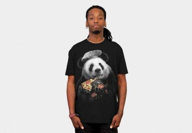 Panda T-shirts design