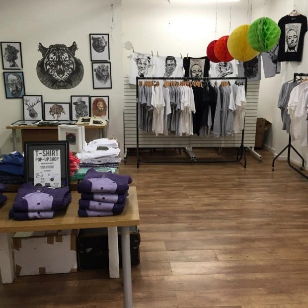 T-Shirt Pop Up Shop