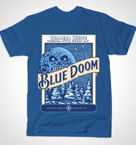 Bluedoom tee