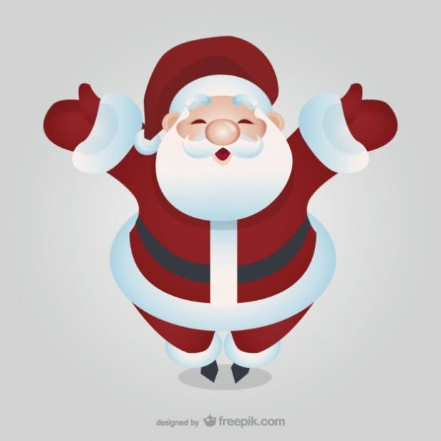 Christmas spirit free vector