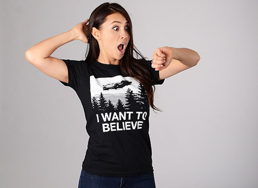 SnorgTees : I want to believe