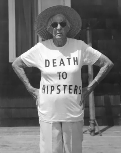 Death To hipsters tee