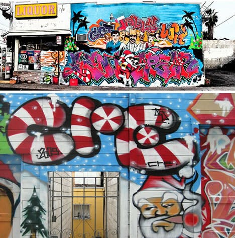 Joyful Christmas Graffiti