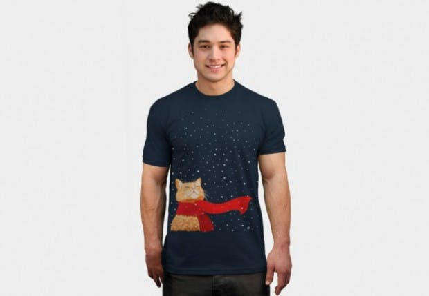 DesignbyHumans Christmas t-shirts